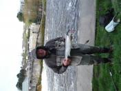 Hillary Mitchell with the second fish of 2016 6lb 11oz
